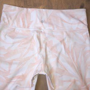 Athleta Pants - Athleta watercolor leggings size LT